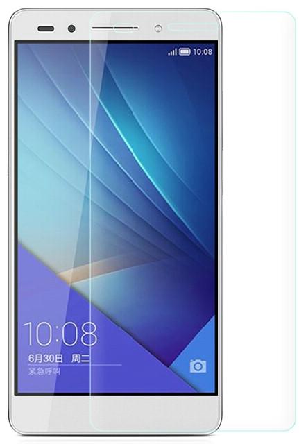 Противоударное защитное стекло Crystal на Huawei Honor 7
