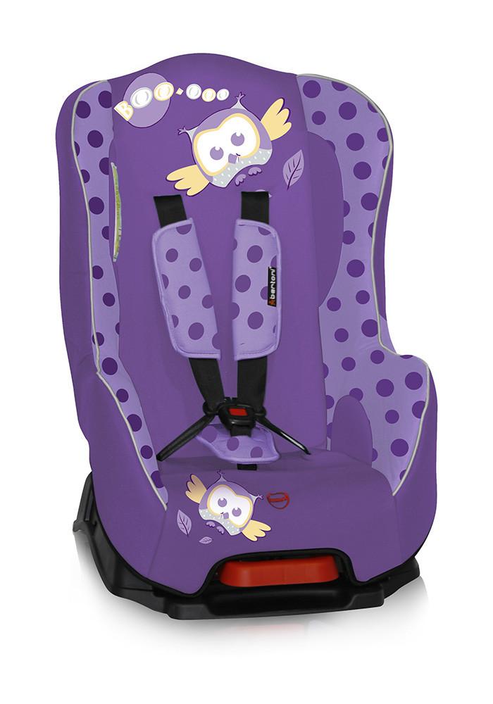 Автокресло Bertoni Pilot Группа 1 (9-18 кг) Фиолетовый / Violet Baby Owl 1452