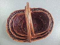 Корзина плетеная 003