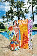 Пляжный надувной матрас Мода Intex Fashion Mats