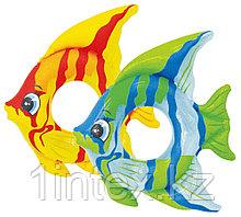 Надувной круг Тропическая рыба 94*80см, Intex
