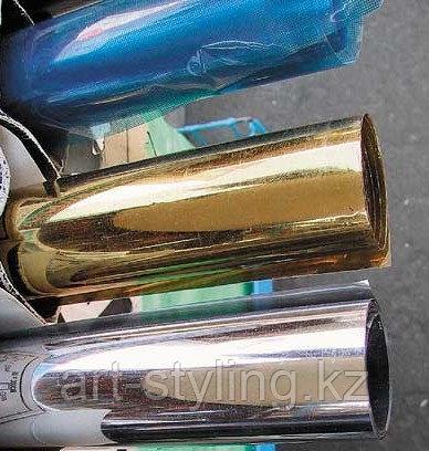 Зеркальная (солнцезащитная) пленка для стекол R Silver 15, ширина 1,83м.