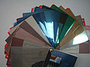 Зеркальная (солнцезащитная) пленка для стекол R Silver 15, ширина 1,83м., фото 4