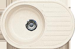 Кухонная мойка из искусственного камня Gran-Stone  GS-18L  (730х460 мм)