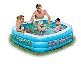 Детский надувной бассейн Intex «Аквариум» квадратный, фото 2