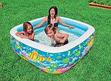 Детский надувной бассейн Intex «Аквариум» квадратный, фото 3