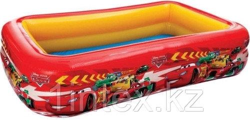 Детский надувной бассейн «Тачки» Intex
