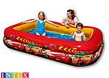 Детский надувной бассейн «Тачки» Intex, фото 2