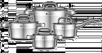 Набор посуды YAMATERU, 8 предметов, нержавеющая сталь, серия HOSHI , фото 1