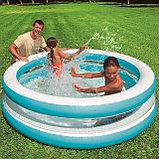 Надувной бассейн INTEX Бирюза, фото 3