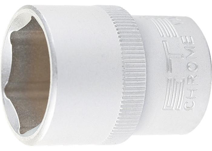 "(13831) Головка торцевая, 20 мм, 6-гранная, CrV, под квадрат 1/2"" // STELS"