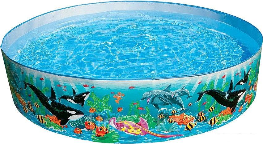 Детский каркасный бассейн Intex Океанский Риф