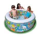 Надувной бассейн Аквариум INTEX Deluxe с надувным дном, фото 3