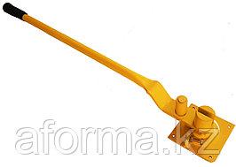 Ключ для гибки арматуры большой желтый