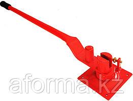 Ключ для гибки арматуры большой красный