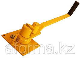 Ключ для гибки арматуры маленький желтый
