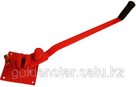 Ключ для гибки арматуры маленький красный