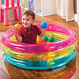 Надувной бассейн Intex КЛАССИЧЕСКИЙ с шариками, фото 2