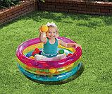 Надувной бассейн Intex КЛАССИЧЕСКИЙ с шариками, фото 3