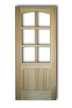 Межкомнатная дверь(остеклённая)