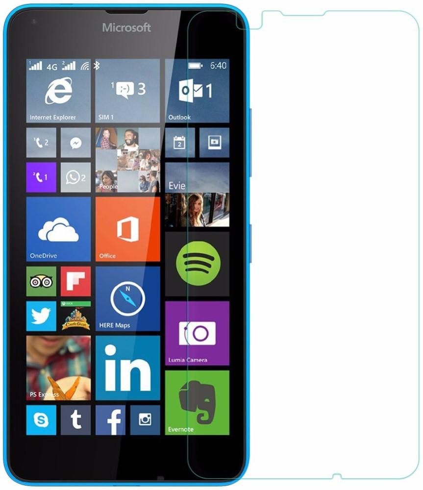 Противоударное защитное стекло Crystal на Nokia Lumia 640