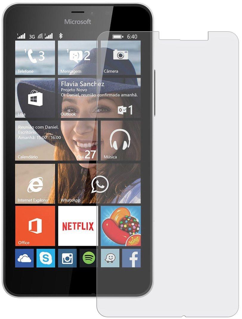 Противоударное защитное стекло Crystal на Nokia Lumia 640XL