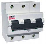 Автомат. выключатель модульный ( на динрейку) EKF