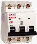 Выключатель Автоматический ВА 47-63 EKF
