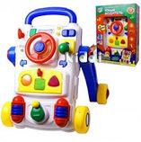 Ходунки-каталка юный водитель joy toy, фото 2