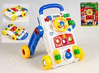 Ходунки-каталка юный водитель joy toy, фото 1