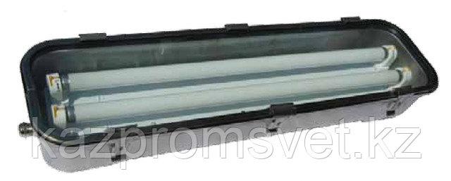 Светильник серии ВЭЛАН41 из нержавеющей стали, 2ExeqIIT6, 2ExnAIIT6