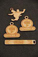 Брелки жетоны медальоны