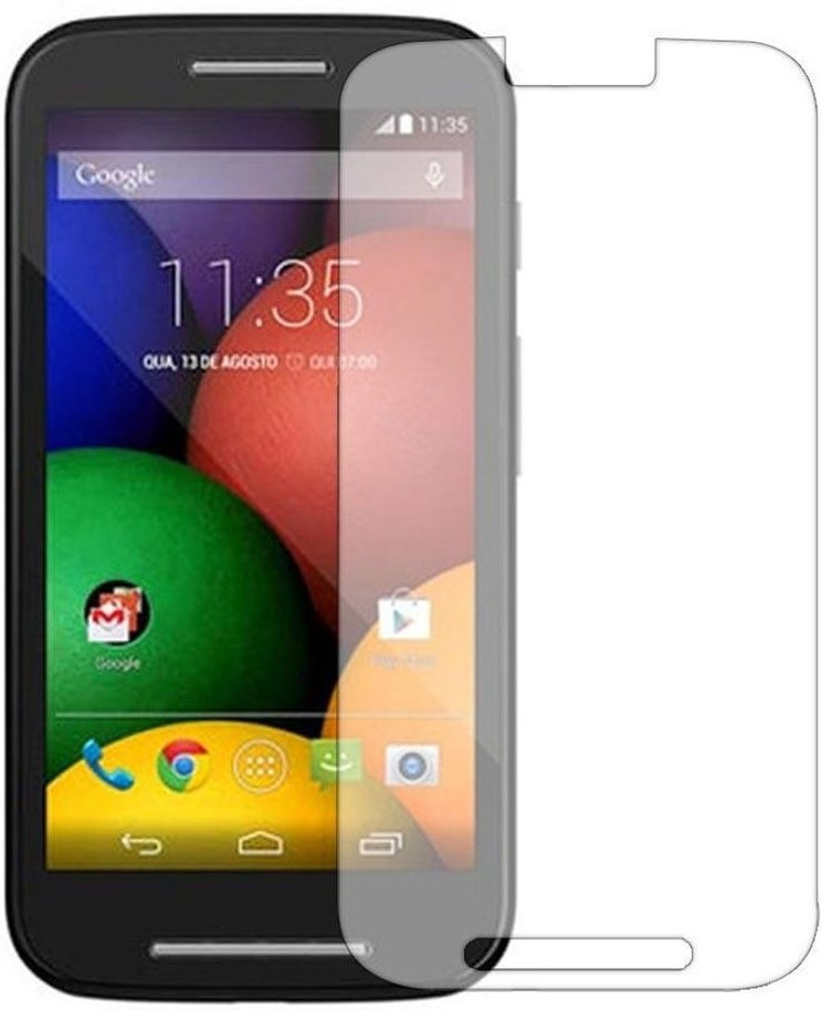 Противоударное защитное стекло Crystal на Motorola Moto E