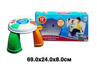 Музыкальный световой  стульчик joy  toy, фото 1