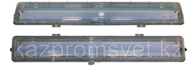 Аварийный светильник взрывозащищенный серии ВЭЛ51-П и ВЭЛ51-ПАК из пластика 2ExedqIICT4