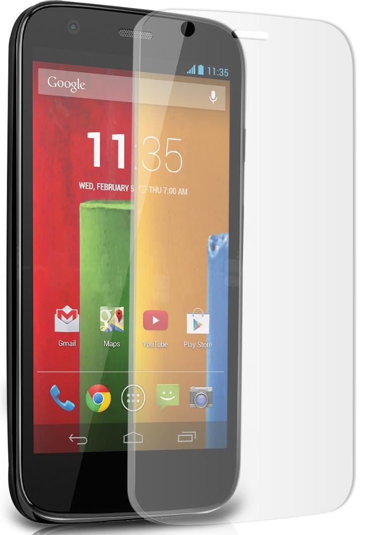 Противоударное защитное стекло Crystal на Motorola Moto X
