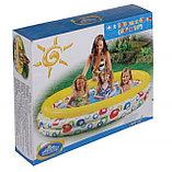 Детский надувной бассейн Intex Геометрия, фото 3