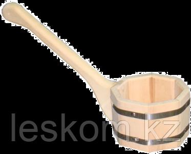 Черпак бондарный 0,6л с гориз. ручкой МЧ1