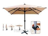 Зонт Apple 3.5х3.5м, песочный