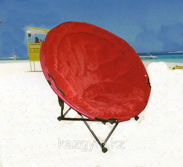 Складное круглое туристическое кресло (ракушка)