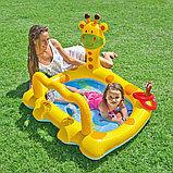"""Надувной бассейн """"Маленький Жираф"""" INTEX, фото 2"""