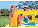 """Надувной бассейн """"Маленький Жираф"""" INTEX, фото 3"""