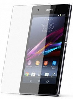 Противоударное защитное стекло Crystal на Sony Xperia Z