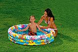 """Надувной детский бассейн """"На рыбалке"""" Intex 132 х 28, фото 2"""