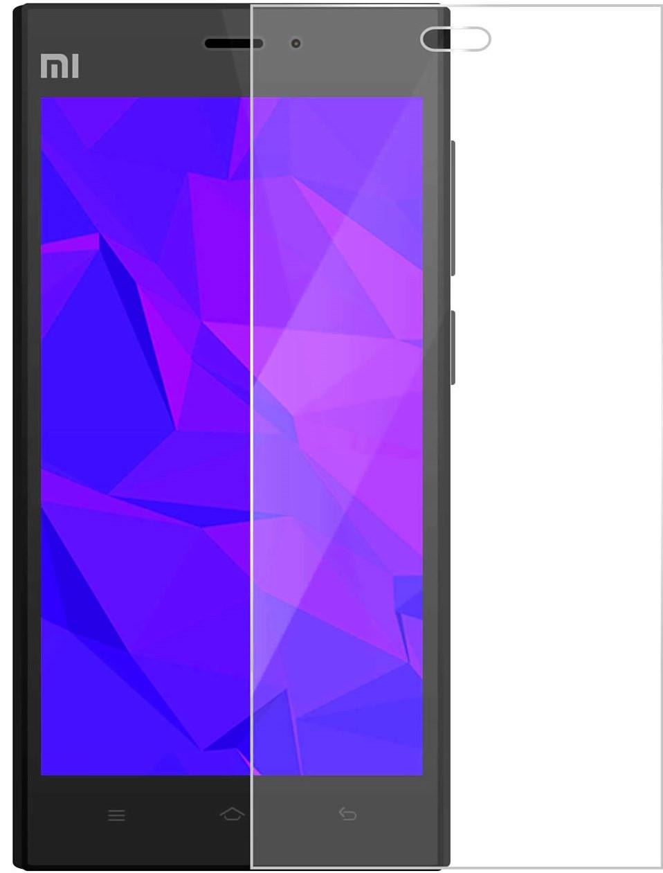 Противоударное защитное стекло Crystal на Xiaomi Mi3