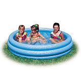 Надувной бассейн Кристалл Intex, фото 2