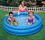 Надувной бассейн Кристалл Intex, фото 3