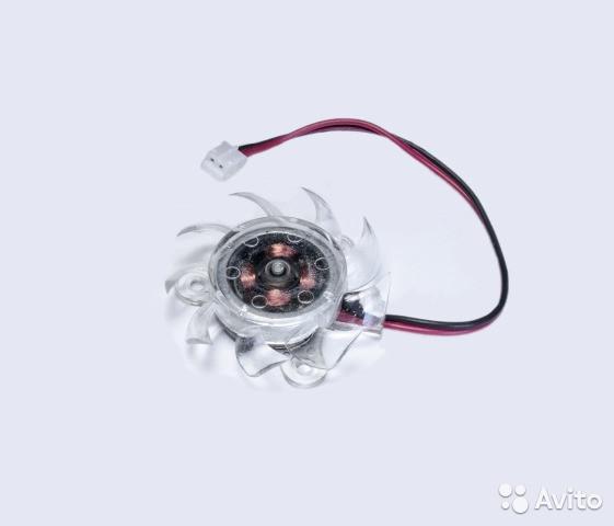 Вентилятор для видеокарты, чипсета (диаметр 37 мм)