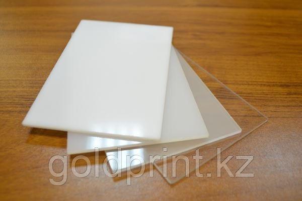Акрил белый 431, размер 1,22*2,44м толщина 20мм. Распродажа!, фото 2