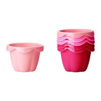 СОККЕРТАКА Формочка для выпечки, разные оттенки розового
